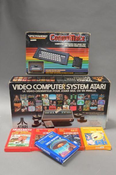 ATARI VCS 2600 version bois 4 boutons - en...