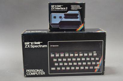 SINCLAIR ZX Spectrum personal computer en...