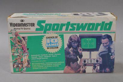 Videomaster Home TV Game Sportsworld - 1978...
