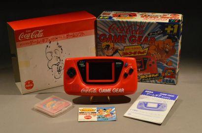 """Console SEGA Game Gear japonaise Edition limitée """"Coca-Cola"""" n°P41145024 Très rare..."""