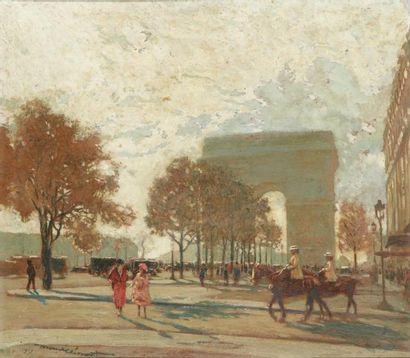 Amédée Julien MARCEL - CLEMENT (Paris 1873 - ?)