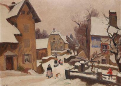 Jules Émile ZINGG (Montbéliard 1882 - Paris 1942)