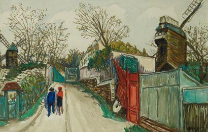 Alphonse Léon QUIZET (Paris 1885 - Pré Saint Gervais 1955)