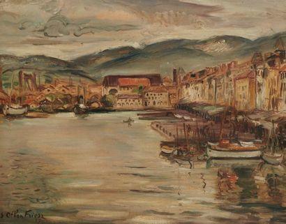 Achille Emile Othon FRIESZ (Le Havre 1879 - Paris 1949)