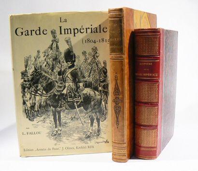 Garde impériale. Lot de 3 ouvrages: - JOB,...