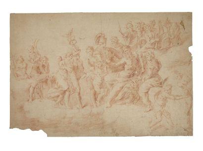 Atelier de Polidoro Caldara, dit Polidoro da Caravaggio ( Caravaggio 1499- 1543 Messina)