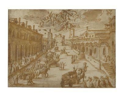 Attribué à Hendrick van CLEEVE (1525-1589)