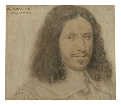 Attribué à Daniel DUMONSTIER (Paris 1574 - 1646)