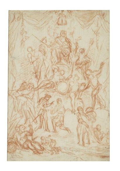 Attribué à Bernard PICART (Paris 1662- 1727)