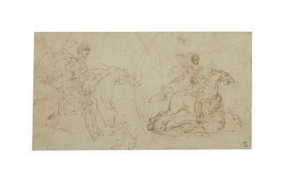 Entourage de Stefano della BELLA (Florence 1670 - 1664)