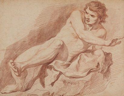 Attribué à Hyacinthe COLLIN DE VERMONT (Versailles 1693 - Paris 1761)