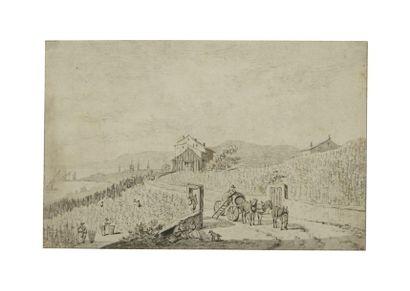 Ecole suisse vers 1700
