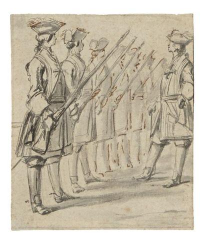 ATTRIBUÉ À CHARLES-NICOLAS COCHIN (PARIS 1715-1790)