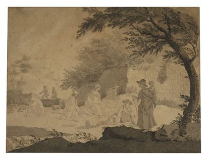 Pietro PALMIERI (Paris 1740-1804)