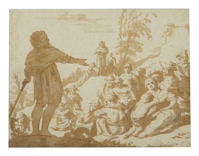 ECOLE DU NORD XVIIIe siècle