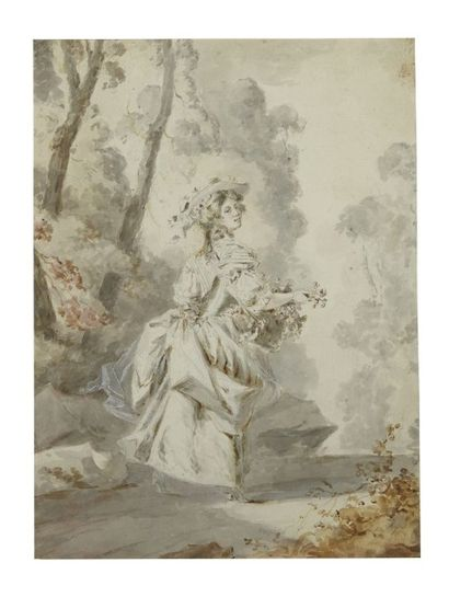 CLAUDE-JEAN-BAPTISTE HOIN (DIJON 1750 - 1817)