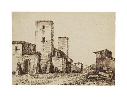 Attribué à Constant BOURGEOIS de CASTELET (Guiscard 1767-1841)