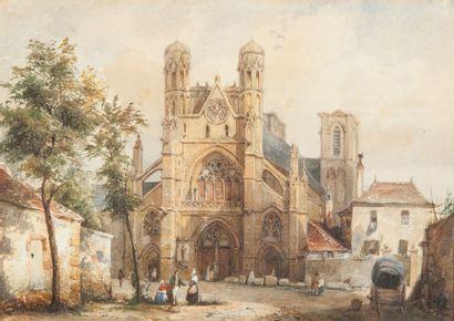 Etienne VILLERET (1800 - 1866)