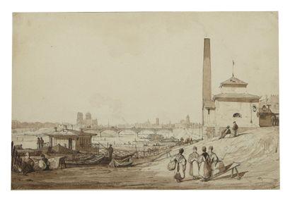 Ambrose POYNTER (Londres 1796 - Douvres 1886)