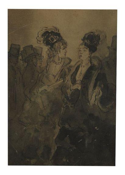 Constantin GUYS (Flessingue 1802 - Paris 1892)
