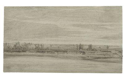 ATTRIBUÉ À ALEXANDRE GABRIEL DECAMPS (PARIS 1803 - FONTAINEBLEAU 1860)