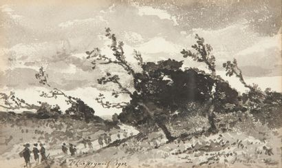 Henri Joseph HARPIGNIES (1819 - 1916)