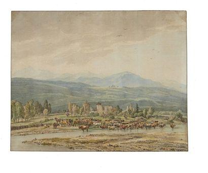 École ALLEMANDE du XIXe siècle