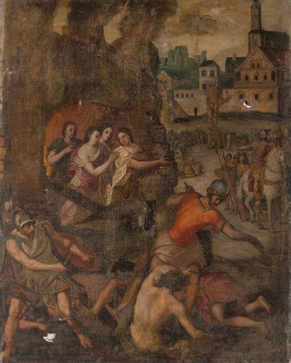 Ecole FRANCAISE de la fin du XVIème siècle