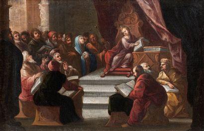 Ecole ESPAGNOLE du XVIIème siècle, suiveur de Juan VALDES LEAL
