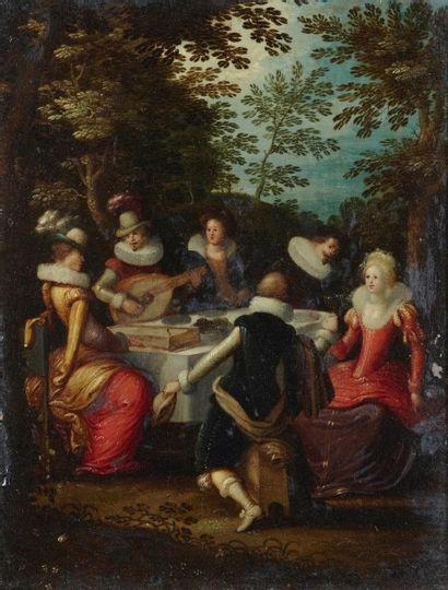 Attribué à Louis de CAULLERY (1580-1621)