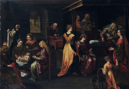 Ecole ANVERSOISE vers 1610, suiveur de Pierre POURBUS
