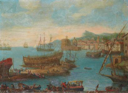 Attribué à Pascal DE LA ROSE (1665 – 1745)