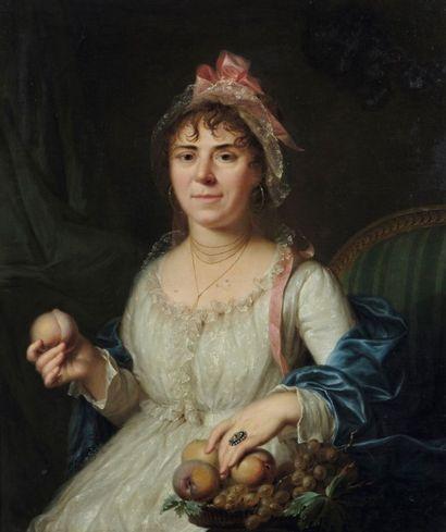 Attribué à Louis Rolland TRINQUESSE (1746 - 1800)