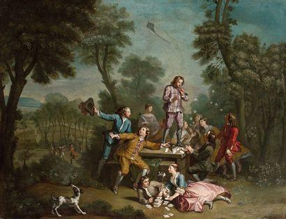 Attribué à Philippe MERCIER (1689 - 1760)