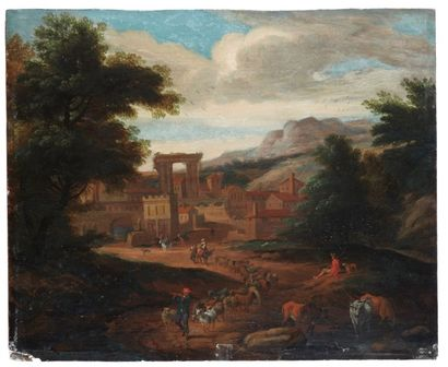 Ecole FLAMANDE du XVIIIème siècle, suiveur de Matthys SCHOEVAERDT