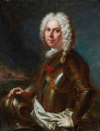 Attribué à Jean Joseph DUMONT, dit DUMONT de TULLE (1687 – 1779) Portrait de Monsieur...