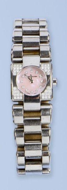 Bracelet montre pour femme, en acier, de...