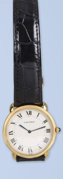 Belle montre pour Homme en or jaune 18 K,...