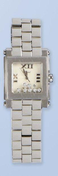 Bracelet montre pour femme en acier de Marque...