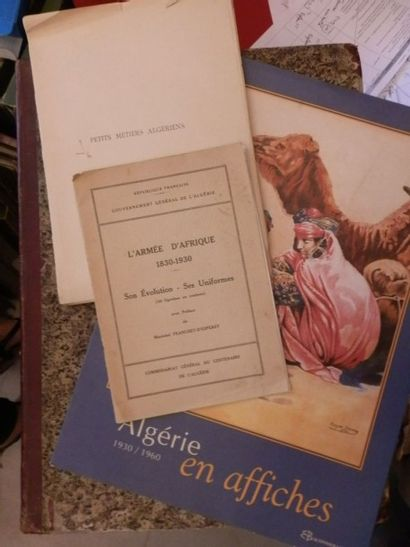 Algérie - Publicité. Algérie en affiches....
