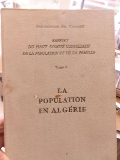 Démographie. Rapport du Haut Comité Consultatif...