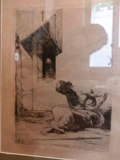 Gravure - BENJAMIN-CONSTANT (Jean-Joseph)...