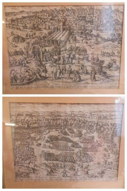 Gravures XVIe s. - [HOGENBERG (Franz) & VERMEYEN...
