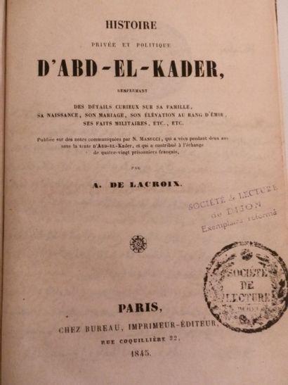 LACROIX (Auguste de)