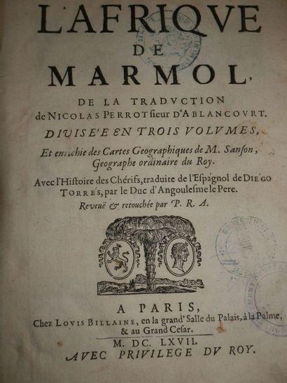 MARMOL y CARNAJAL (Luis de)