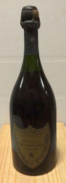 """1 Bouteille CHAMPAGNE """"Dom Pérignon"""", Moët & Chandon 1964 (TLB)"""