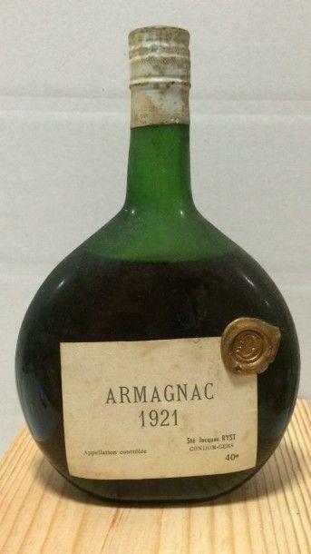 1 Bouteille ARMAGNAC 1921 (B)
