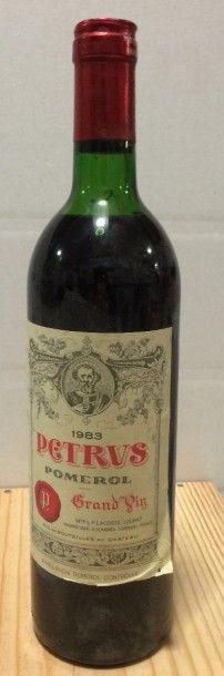1 Bouteille PETRUS, Pomerol 1983 (MB)