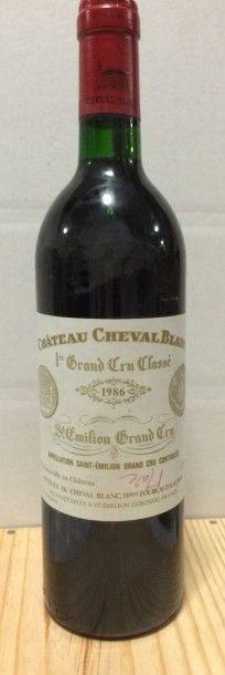 1 Bouteille CH. CHEVAL-BLANC, 1° Grand Cru...