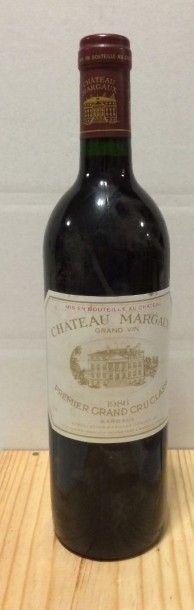 1 Bouteille CH. MARGAUX, 1° cru Margaux 1986...